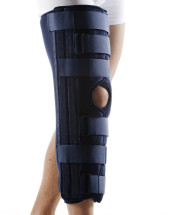 Dreiteilige Knielagerungsschiene